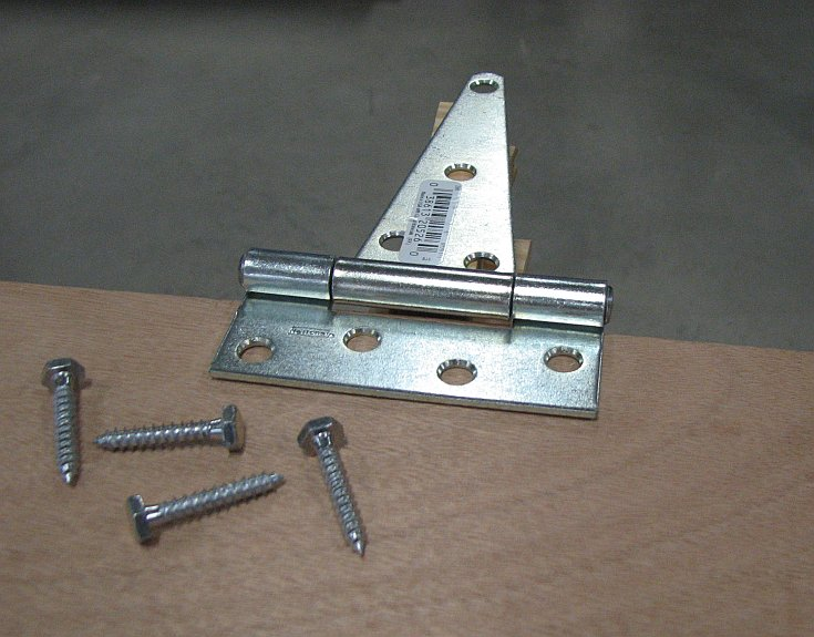 Horse Stall Hardware - Hinges