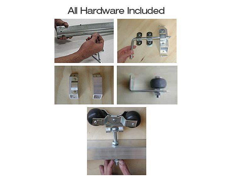 Slider Hardware for Horse Stalls