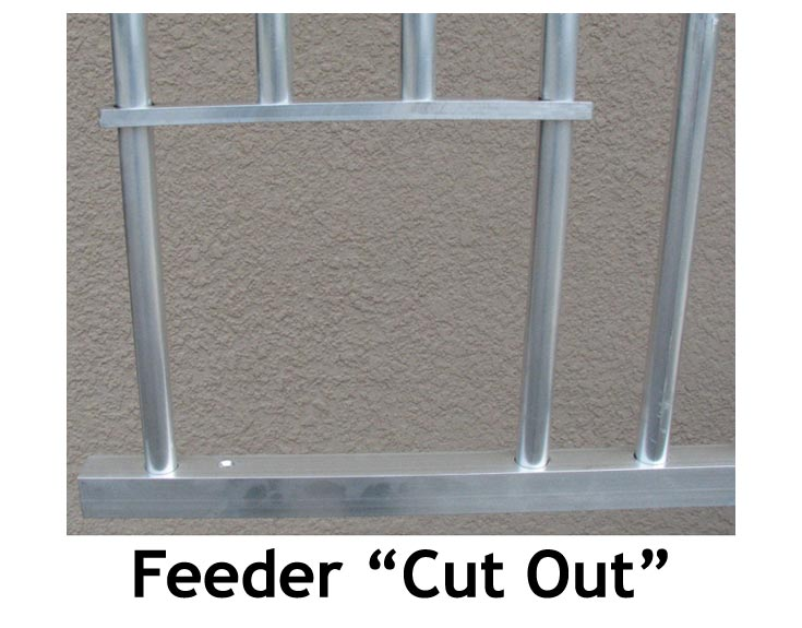Feed Cut Out for Horse Stall Grills