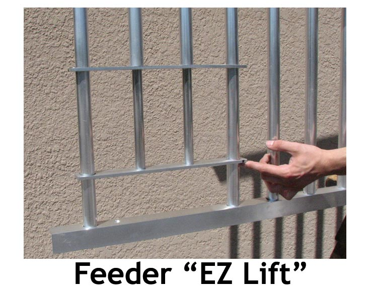 EZ Lift Feed Panel for Horse Stall Grill