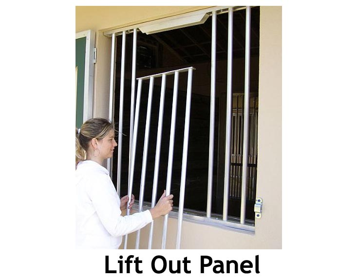 Lift Out Panel for Horse Stall Grill