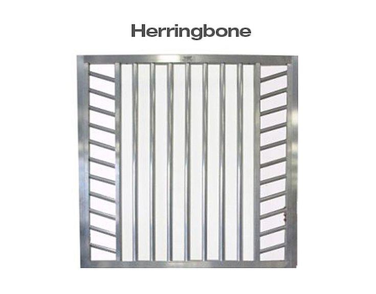 Herringbone Horse Stall Door Top