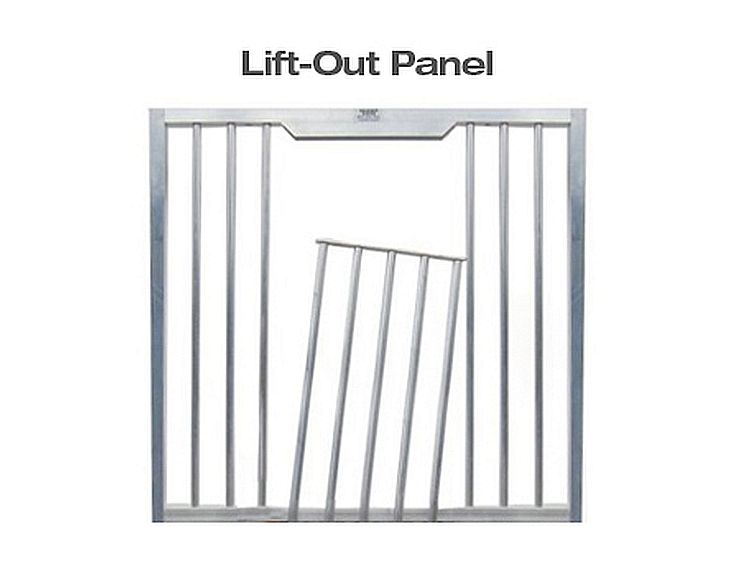 Lift Out Panel Horse Stall Door Top