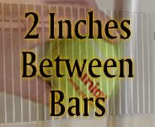 """2"""" Spacing Window Grills"""