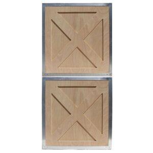 Crossbuck Dutch Doors