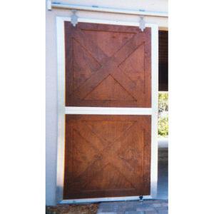 Crossbuck Not Split Doors