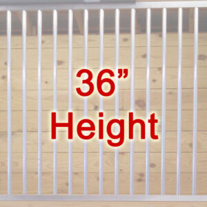 """36"""" Tall Partition Grills"""