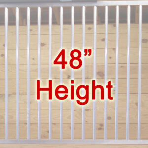"""48"""" Tall Partition Grills"""