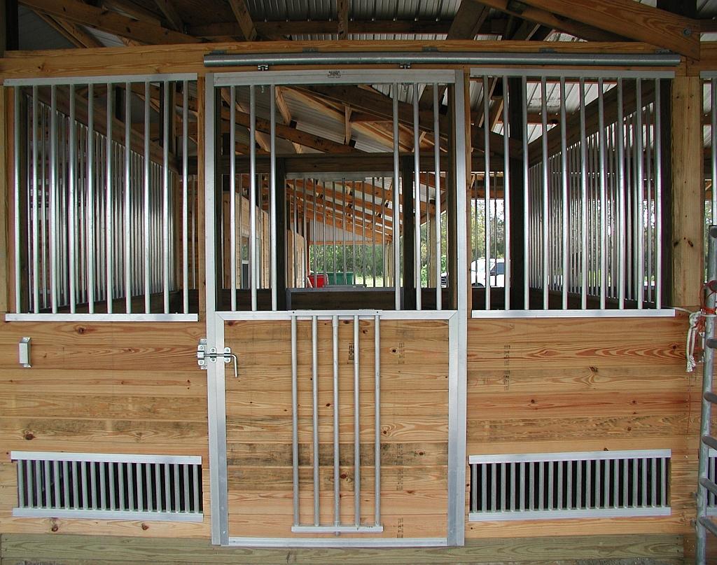 Klepper Horse Stall Front