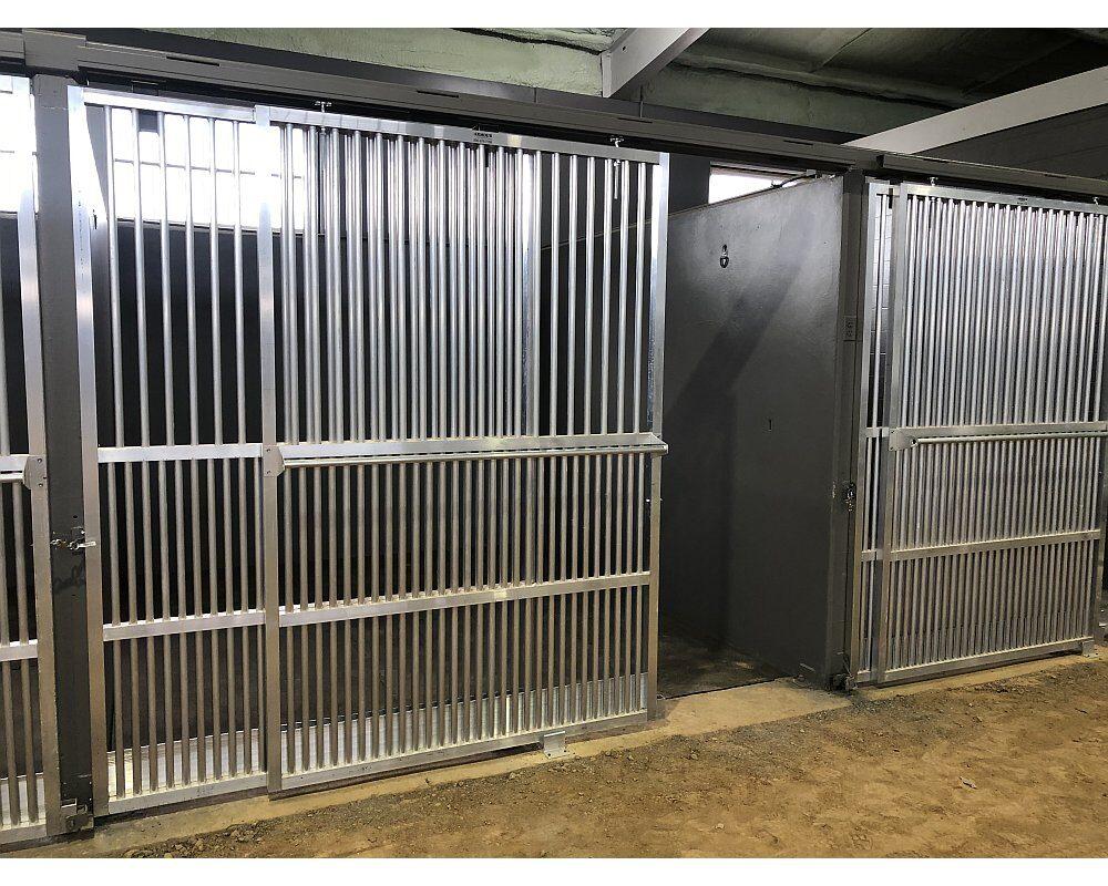 Aluminum Coolbreeze Doors and Horse Grills.